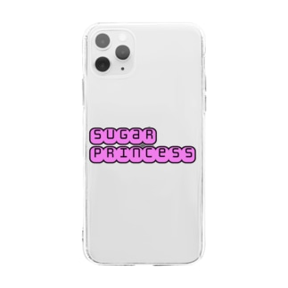 sugarprincess iPhoneケース Soft clear smartphone cases
