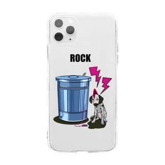 8YSの8YS×ROCK Soft clear smartphone cases