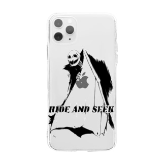 かくれんぼ Soft clear smartphone cases