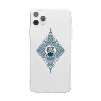 lotus Soft clear smartphone cases