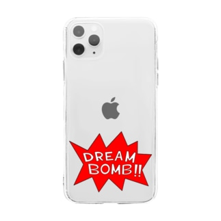 DREAM BOMB!! ユメノバクダン Soft clear smartphone cases