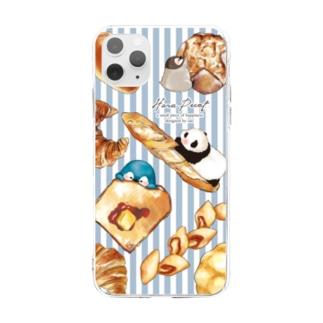 パンいっぱい Soft Clear Smartphone Case