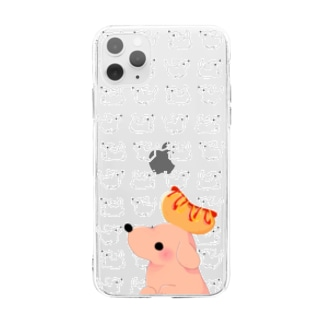 Hot dog Soft clear smartphone cases