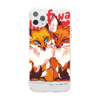FOX TWINS(case) Soft clear smartphone cases
