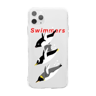 Swimmers red Soft clear smartphone cases