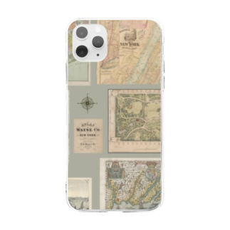 Old Atlas Soft clear smartphone cases