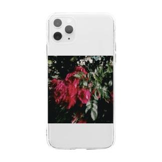 内緒話 Soft clear smartphone cases