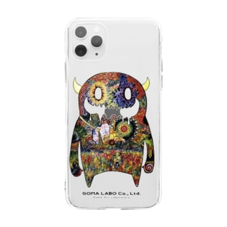 MOON MONSTER Soft clear smartphone cases