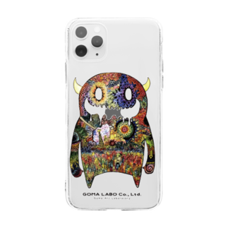 GOMA【公式】🐑©︎のMOON MONSTER Soft clear smartphone cases