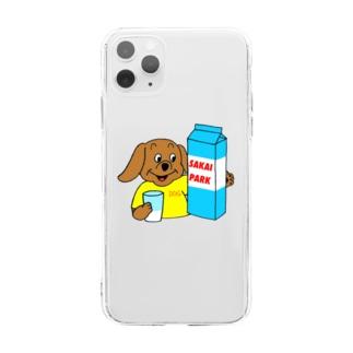 SAKAI PARK ソフトクリアスマホケース Soft clear smartphone cases