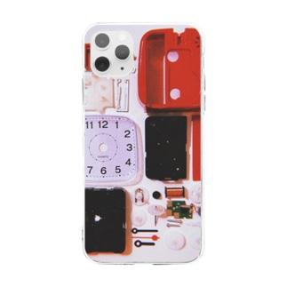 解体美 Soft clear smartphone cases