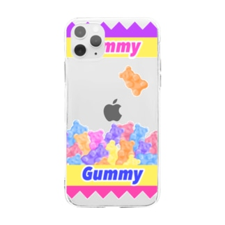Yummy Gummy Soft clear smartphone cases