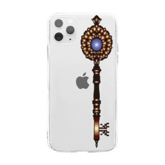 鍵 Soft clear smartphone cases