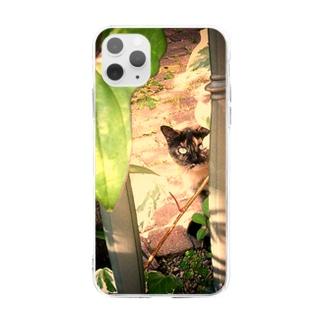 あなたは、だあれ? Soft clear smartphone cases