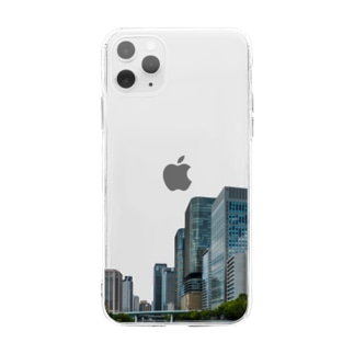 Osaka River side Soft clear smartphone cases