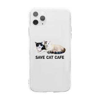 チッチとトット Soft clear smartphone cases