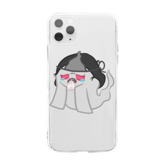 ゾワゾワおいわさん Soft clear smartphone cases