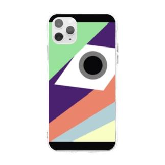 無意味 Soft clear smartphone cases