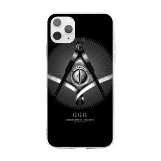秘密結社クレスメイソン Soft clear smartphone cases