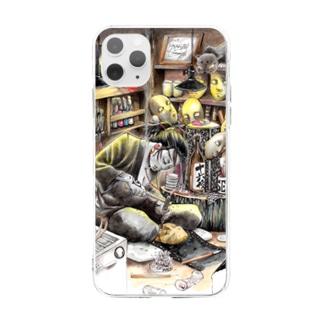 継ぐ者 Soft clear smartphone cases