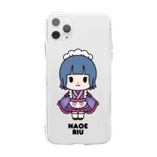 【もののぷ】直江りう Soft clear smartphone cases