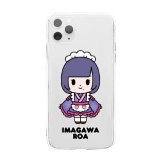 【もののぷ】今川ろあ Soft clear smartphone cases