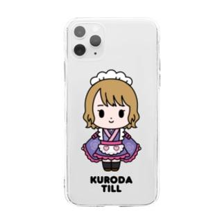 【もののぷ】黒田てぃる Soft clear smartphone cases