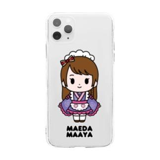 【もののぷ】前田まあや Soft clear smartphone cases
