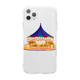 メリーゴーランド🎠 Soft clear smartphone cases