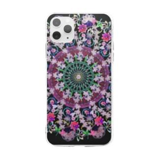 曼荼羅mandalaソフトクリアスマホケース Soft clear smartphone cases