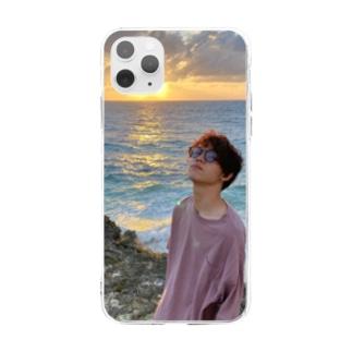 吉田くんの輝き Soft clear smartphone cases