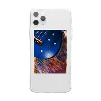 みつめてみよぞ星の実の。 Soft clear smartphone cases
