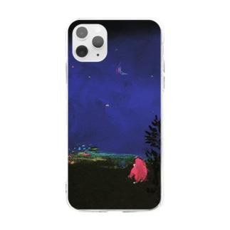 ちょこさん Soft clear smartphone cases