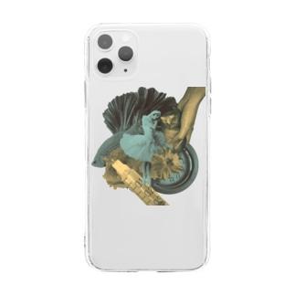 バレリーナ Soft clear smartphone cases