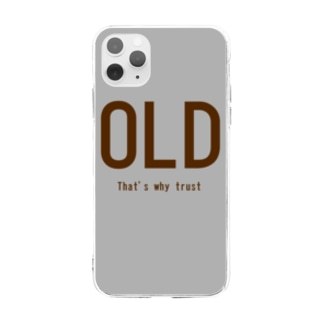OLD~that's why trust~ Soft Clear Smartphone Case
