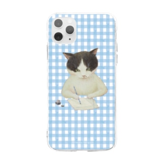 お手紙 Soft clear smartphone cases