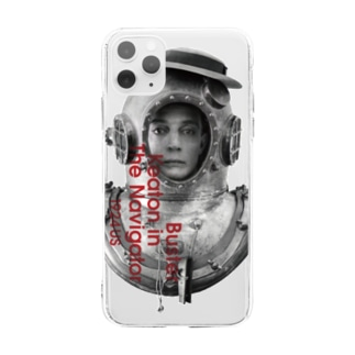 The Navigator(海底王キートン)1 Soft clear smartphone cases