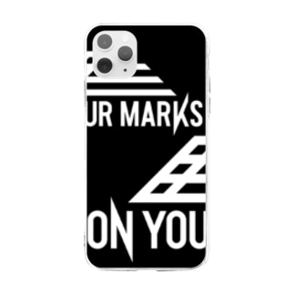 ON YOUR MARKS スマホケース Soft clear smartphone cases