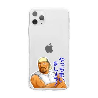 運送屋の忠君① Soft clear smartphone cases