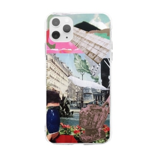FLOWER SHOWER Soft clear smartphone cases