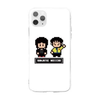 ドット絵 Soft clear smartphone cases