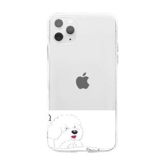 今日のコムさん Soft clear smartphone cases