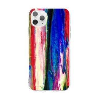 溶け逝く人生。 Soft clear smartphone cases