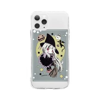 魔女アメルと蝙蝠チロ? Soft clear smartphone cases
