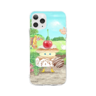 ミルフィーユちゃん Soft clear smartphone cases