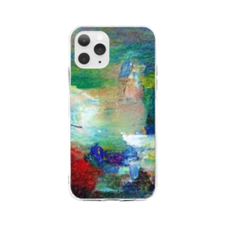 Abstract art Soft clear smartphone cases