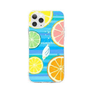 CitrusDive!! Soft clear smartphone cases