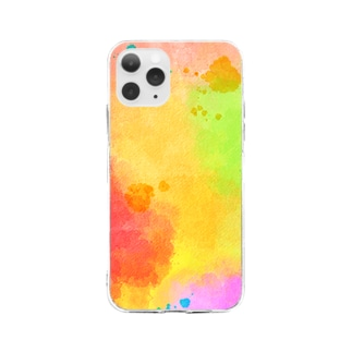 Colorful Soft clear smartphone cases