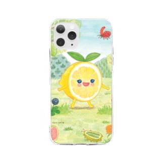 レモンちゃん Soft clear smartphone cases
