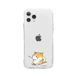 あたちたちのおみせのあたちのいやいやさん Soft clear smartphone cases